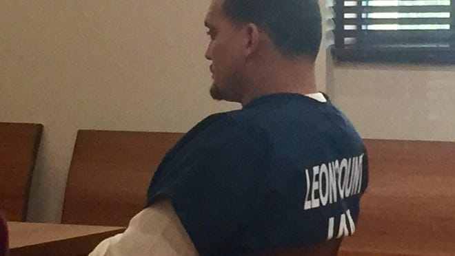 Sigfredo Garcia was in Leon Circuit Court on Tuesday so his attorney could set a date for a bond hearing.