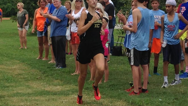 Dresden's Loral Winn finished 21st in the Class A-AA state meet last year.