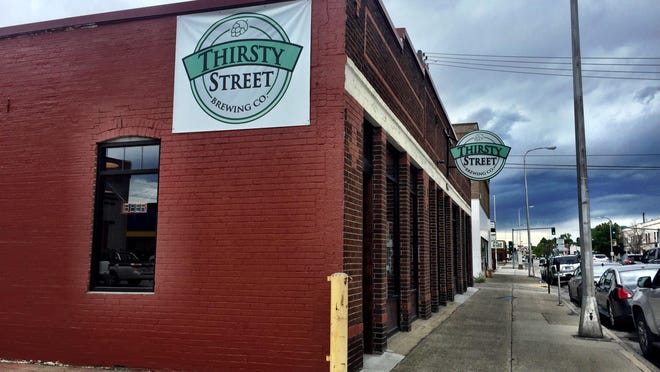 Thirsty Street Brewing Co. is a stone's throw from Angry Hank's Microbrewery and an easy walk to three others in downtown Billings.