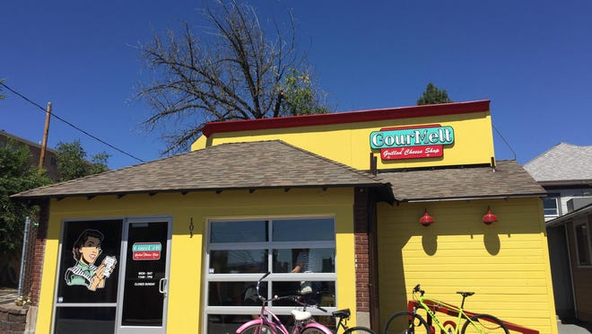 GourMelt Grilled Cheese Shop just opened near the University of Nevada. The shop began in 2011 as a food truck.