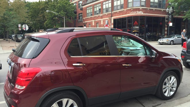 Chevy's small SUV deftly handled obstacles on busy Chicago streets.