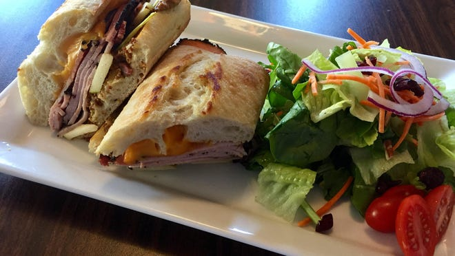 For Reno Bites, the annual celebration of the city's food culture that runs through Oct. 16, Homage Bakery is offering several lunch specials in which two people can eat for $20. Here, a Black Forest ham sandwich.