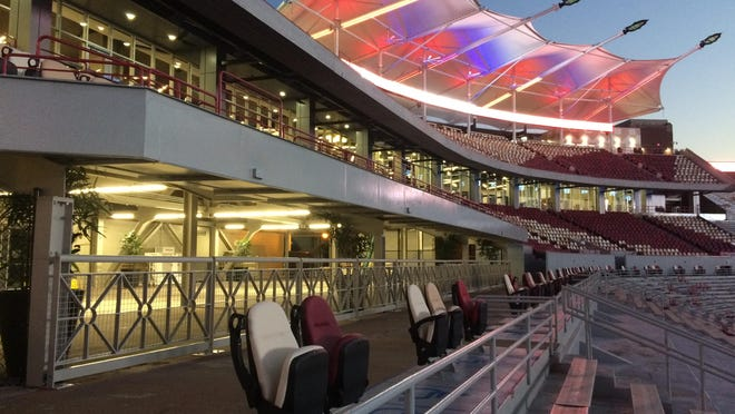 More than 4,000 fans are expected at the Champions Club for Saturday's home game against Clemson.