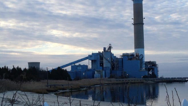 The coal-fired B.L. England power plant at Beesley's Point in northern Cape May County would be rebuilt as a natural gas plant if a pipeline through part of the Pinelands is built.
