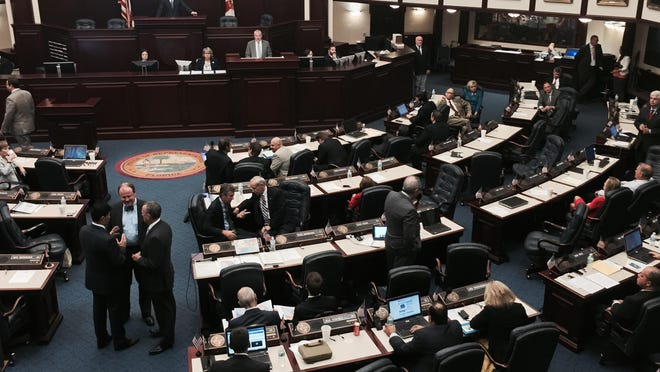 The Florida House of Representatives meets.