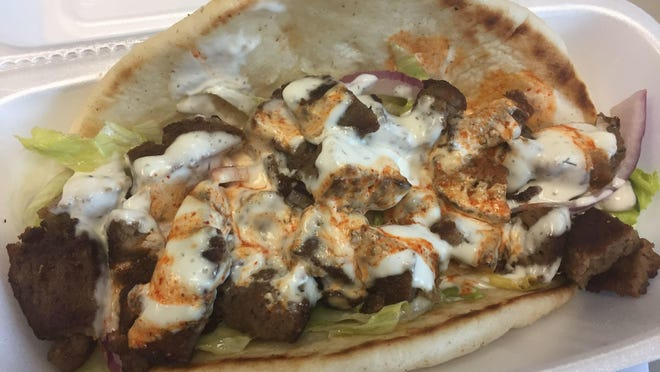 A lamb gyro at Semo's is $5.