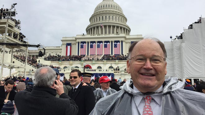 Florida Republican National Committeeman Peter Feaman of Boynton Beach at Donald Trump's inauguration.