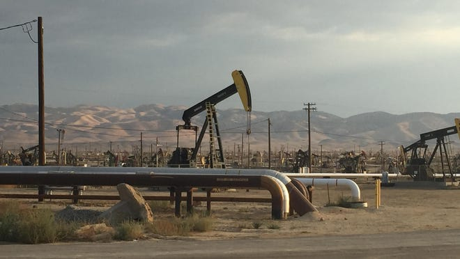 Belridge oil field in Kern County, Calif.