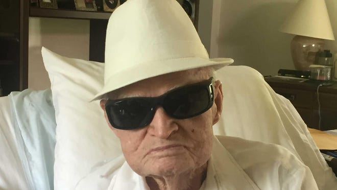 """Vance """"Red"""" Hill, 102, served in the U.S. Army during World War II and was part of D-Day."""