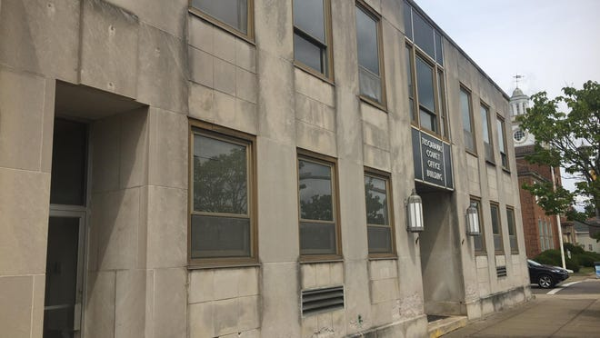 Mayor Joel Day is looking at developing legislation to address the problem of vacant and deteriorating buildings throughout the city of New Philadelphia. The former county office building on N. Broadway is one example.