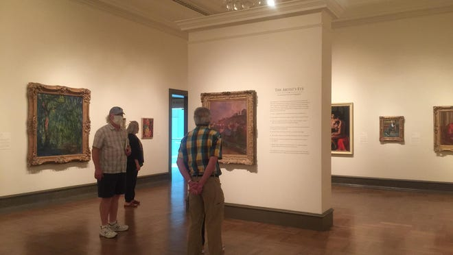Staff and volunteers peruse the Columbus Museum of Art on June 19 during a test day before the facility reopened to members on Tuesday.