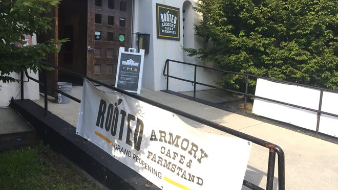 ROOTED is a cafe and farmstand serving up locally sourced treats and produce.