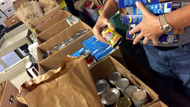 South Shore Community Action Council's Food Resource Program is shipping out 35 percent more food to the needy as more and more suffer the economic fallout of COVID-19.