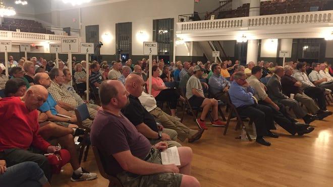Milford has once again postponed Town Meeting.