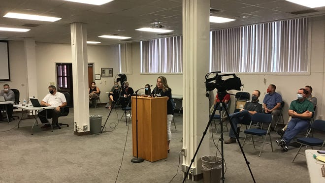 Lincoln Elementary Principal Kerri Lacy was among numerous school staff on Thursday who advocated to the USD 489 School Board for an earlier start date to the 2020-2021 school year in case virus cases rise, forcing remote learning.