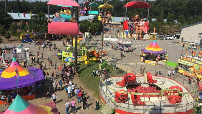 This file photo shows the September 2017 N.C. Mountain State Fair at the WNC Ag Center.