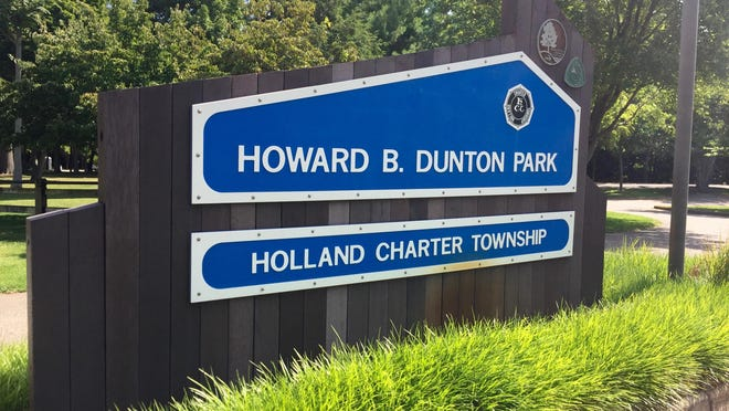 Dunton Park in Holland Charter Township is the site of a potential new attraction for Tulip Time 2021. The festival and the township have entered into a contract for use of the park.