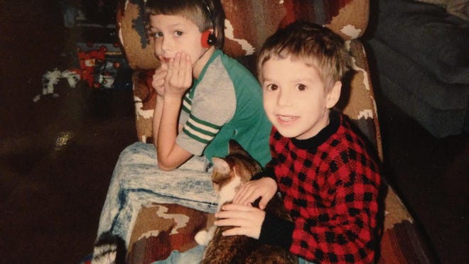 """Growing up """"in the cornfields surrounding Lansing"""" and attending Haslett High School, the brothers were steeped in music from a very young age."""