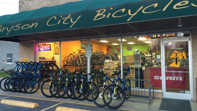 "Bryson City Bicycles on Everett Street in downtown Bryson City was recently named one of ""America's Best Bike Shops of 2014"" by the National Bicycle Dealers Association."