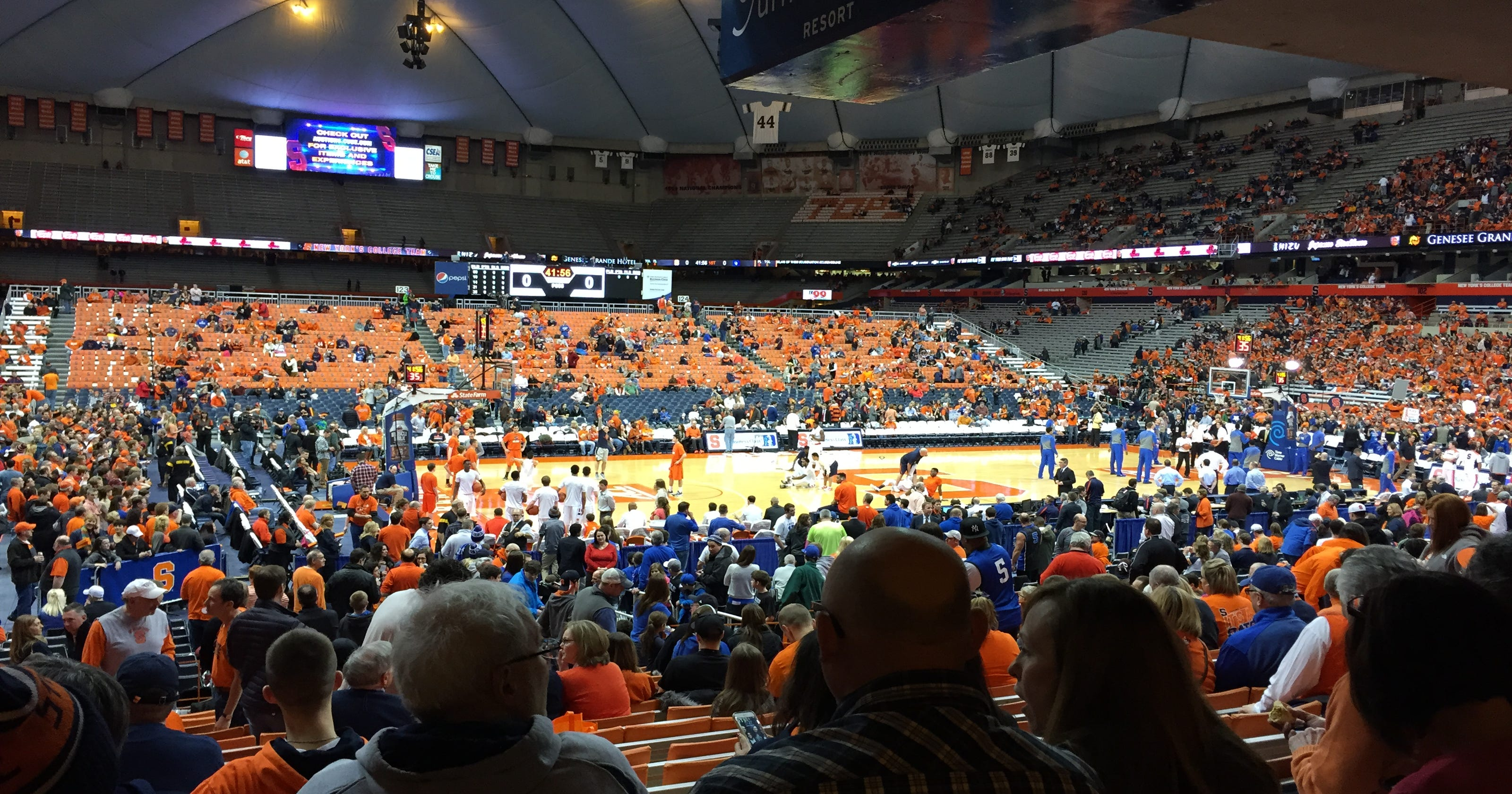 Su Games In The Carrier Dome