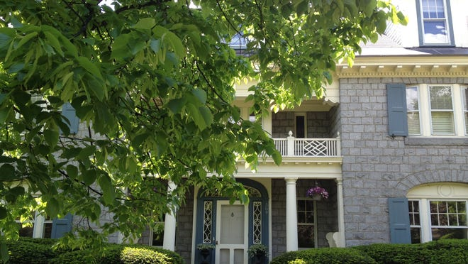 This 1904 stone house on Willard Street in the heart of Burlington will be featured in Saturday's Preservation Burlington homes tour.