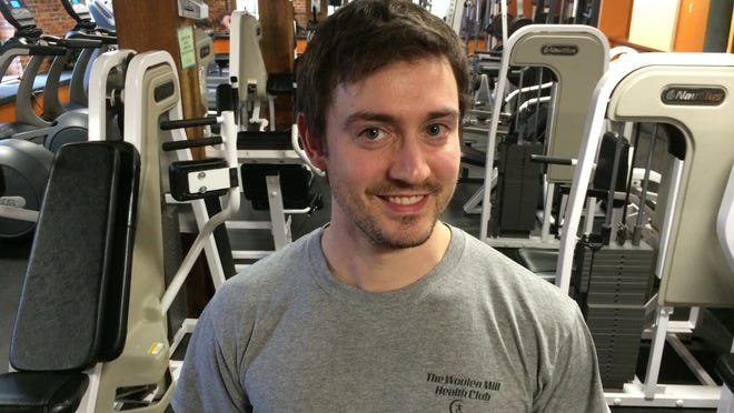 """Usually the first three weeks we see a big bump"" in business in January, said Chris Provost, general manager of The Woolen Mill Health Club in Winooski."