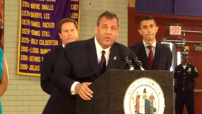 Gov. Christie visited Camden Monday to announce a Camden Promise Program partnership to make resources more accessible to city schools.