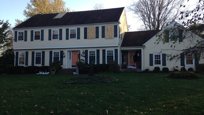 The home of John Sheridan, Cooper Hospital CEO, and his wife, Joyce, in Montgomery, Somerset County, as it appeared on Nov. 4, less than six weeks after their deaths. The Sheridans were found dead Sept. 28.
