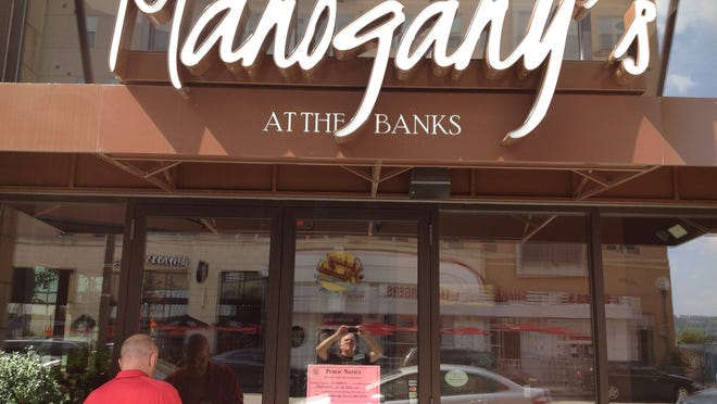The state of Ohio ordered the Mahogany's restaurant at The Banks closed last week, citing back taxes owed. It has since reopened.