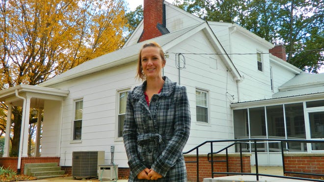 """For Suzy Yates, manager of Fort Campbell's Survivor Outreach Services, """"inheriting"""" the historic Parrish House as a home for the families of the fallen cared for by the program is a dream realized."""