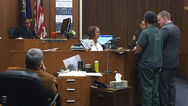 Octavia Dickens appeared before Wayne County Circuit Judge Shannon Walker for sentencing today.
