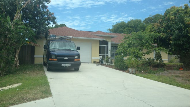 Home at 4425 Dorando Drive in Naples, where Sergey Chepchugov and his wife, Olga Kolesnikova lived. Chepchugov was shot and killed May 4 after a long-simmering dispute with neighbors Robert and Deborah Moulton.