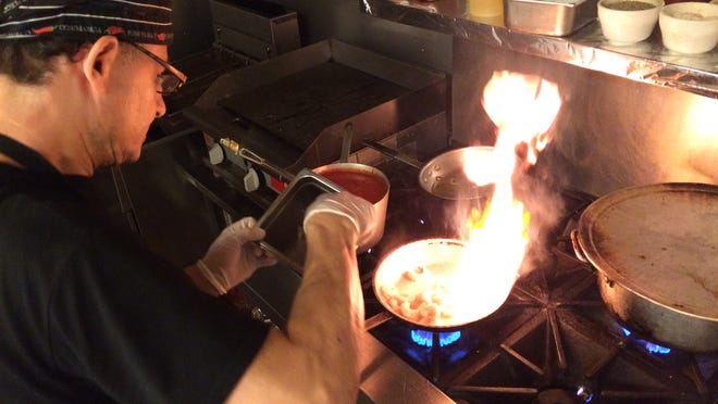 Chef Vincenzo Giammanco at Bella Mia, North Fort Myers.