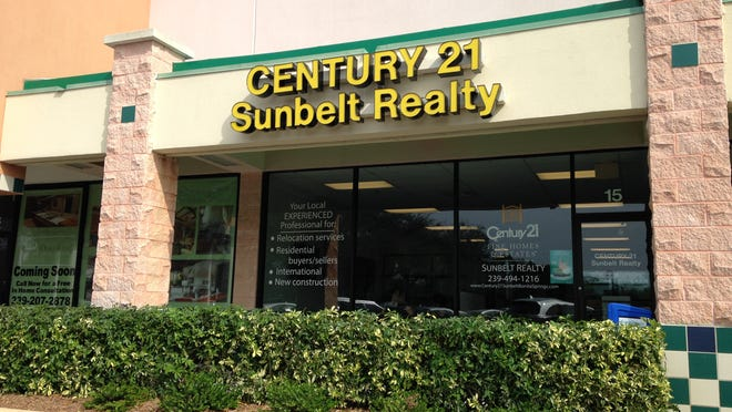Century 21 Sunbelt Realty's new Bonita Springs office opened this month. There are 18 real estate agents working in the office, but the business plans to ultimately have 45 brokers.