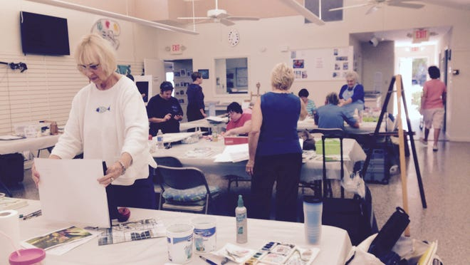 The Cape Coral Art League offers time for open studio use.