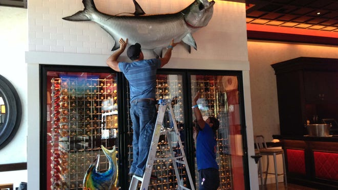 Naples Grande Beach Resort's former steak-centric Strip House becomes Catch of the Pelican restaurant featuring fresh seafood and beef.
