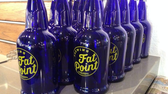 Growlers are available for those who want to take some of their favorite beer home.