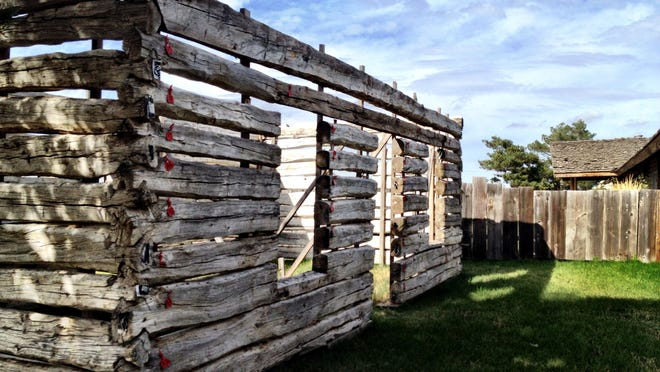A project at Montana Reclaimed Lumber near Bozeman.