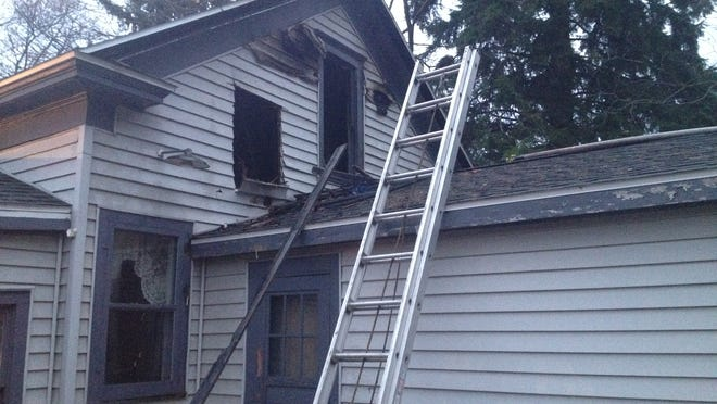 Sturgeon Bay firefighters arrived at 428 N. Seventh Place early Wednesday morning to find smoke coming out of the back of the home.