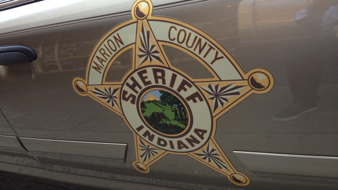 The logo for the Marion County Sheriff's Department is shown on a patrol car at the Indianapolis City-County Building on May 24, 2012. The department also is known as the Marion County Sheriff's Office. Gregg Montgomery / The Star