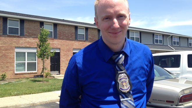 """I didn't really think at all. I just kind of acted,"" said IMPD Detective David Miller about performing CPR on the baby."