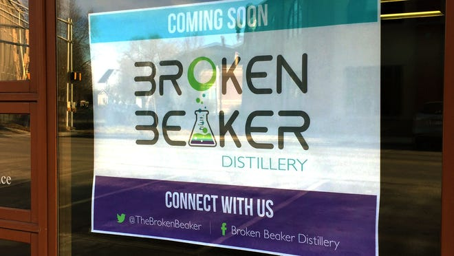 Join Broken Beaker for local art and music by Layla Adair Price on April 10.