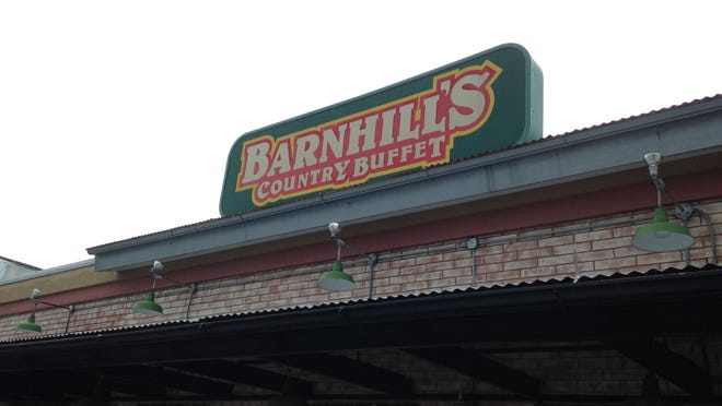 Zen Japanese Steakhouse is preparing to open at the former Barnhill's location in Hamilton Hills Shopping Center.