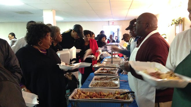St. James Missionary Baptist Church held its seventh annual 'Taste of St. James' on Saturday. The fundraiser is estimated to have raised about $2,000 for school uniforms, RIFA and Room in the Inn.