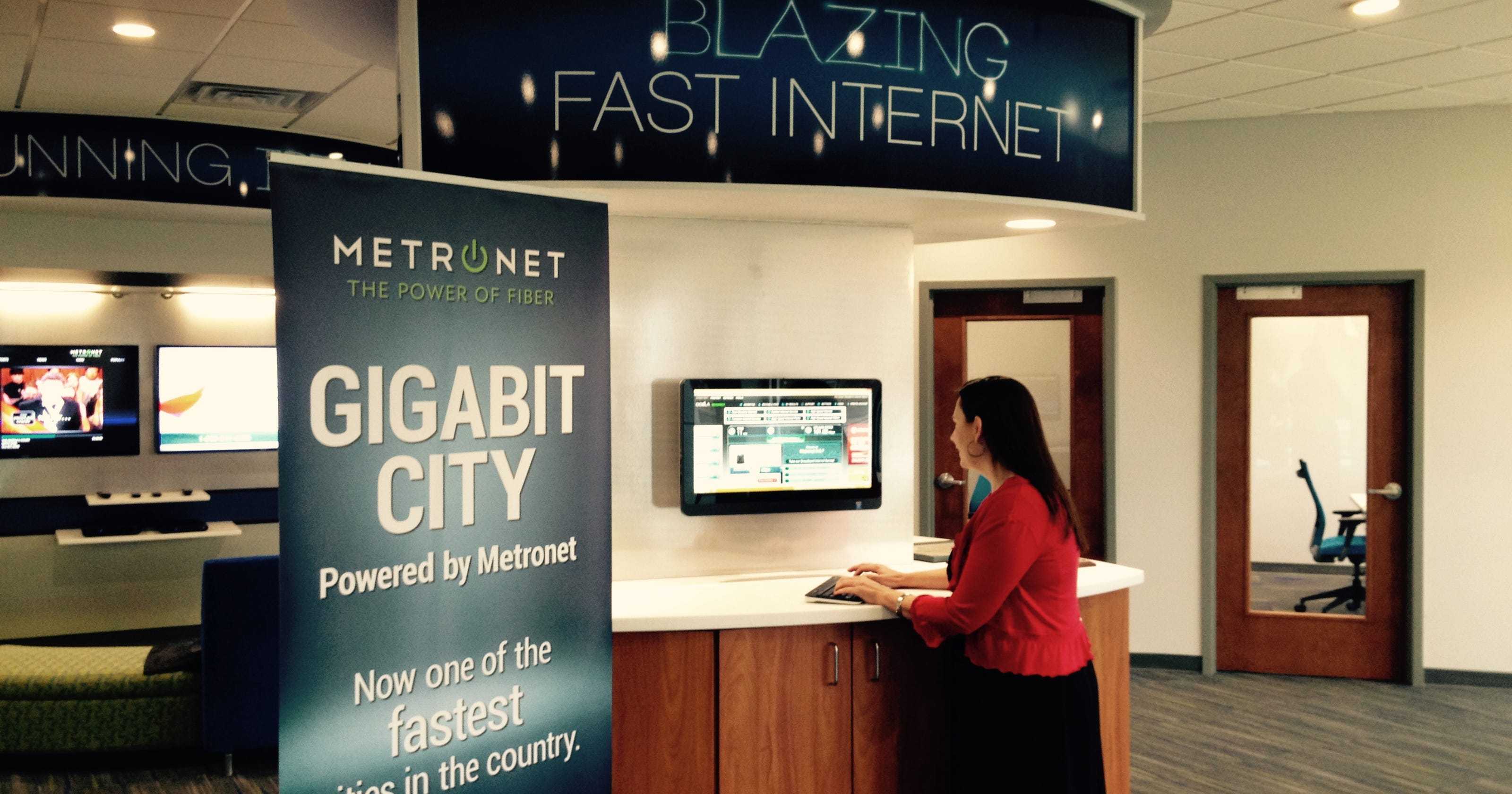 Metronet's Internet speed comes at a price
