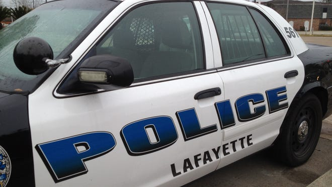 Lafayette Police Department cruiser.