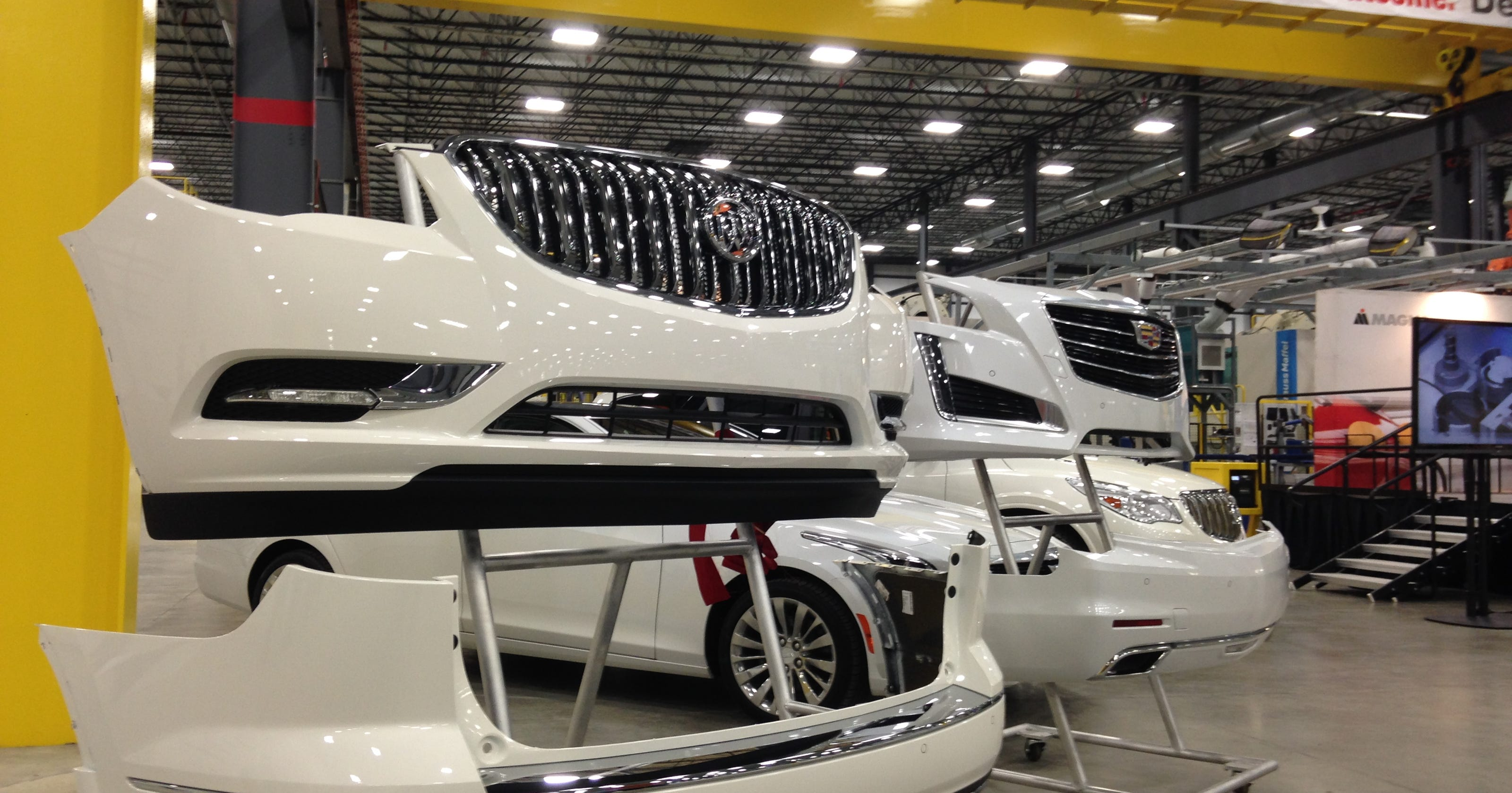 Partsmaker Magna Opens One Local Plant Plans Another
