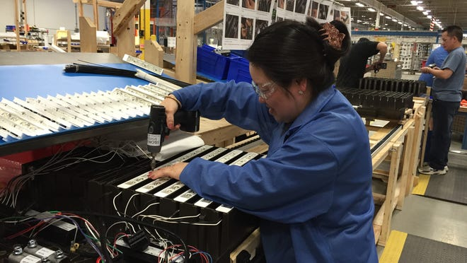 Pai Chang helps make LED products for Orion Energy Systems in Manitowoc.
