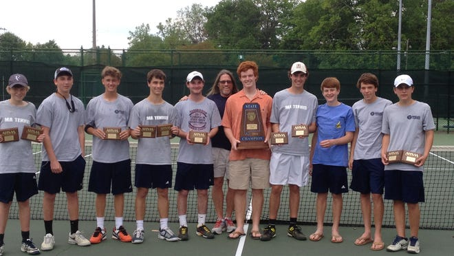 The Montgomery Academy boys won their fourth straight state tennis title.