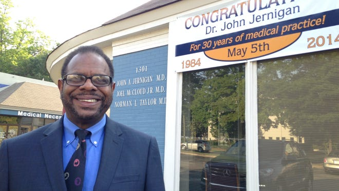 John Jernigan opened his Montgomery medical practice on May 5, 1984.
